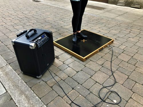 Mitchell Electric Portable Dance Floor