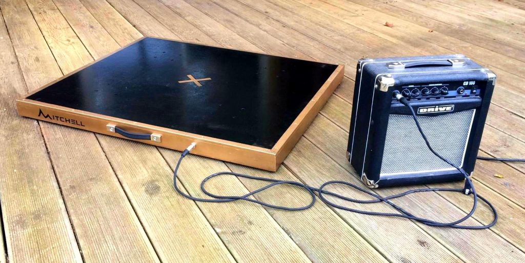 Mitchell Dance Platform with Pickup Microphone